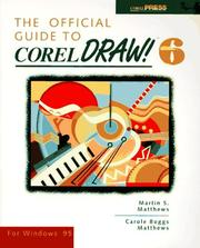 Cover of: The official guide to CorelDRAW! 6 for Windows 95