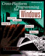 Cross-platform programming for Windows by Murray, William H.
