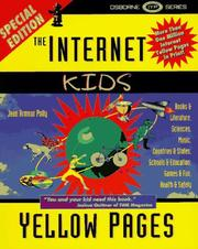 Cover of: The Internet kids yellow pages