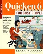 Cover of: Quicken 6 for Windows for busy people