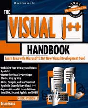 Cover of: The visual J++ handbook