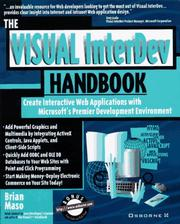 Cover of: The Visual InterDev handbook