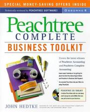 Cover of: Peachtree complete business toolkit