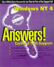 Windows Nt 4 Answers!: Certified Tech Support (Osbornes Answers!: Certified Tech Support)
