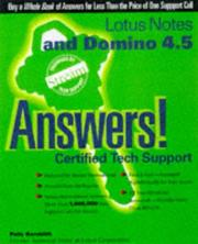 Cover of: Lotus Notes and Domino 4.5 answers!