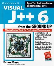 Cover of: Visual J++ 6 from the ground up