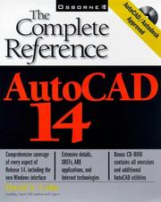 Cover of: AutoCAD 14