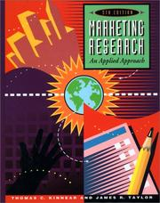 Cover of: Marketing research