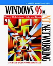 Cover of: Windows 95 and NT networking