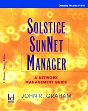 Solstice SunNet manager