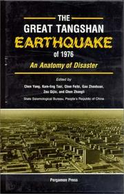 Cover of: The Great Tangshan Earthquake of 1976