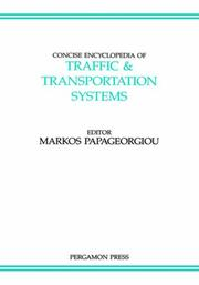 Cover of: Concise encyclopedia of traffic & transportation systems |