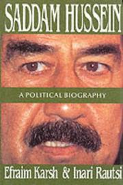 Cover of: Saddam Hussein