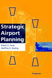 Cover of: Strategic airport planning