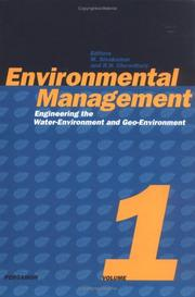 Cover of: Environmental management | International Conference on Environmental Management (2nd 1998 University of Wollongong)