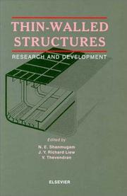 Cover of: Thin-walled structures