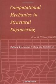Cover of: Computational mechanics in structural engineering |