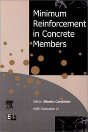 Minimum Reinforcement in Concrete Members (European Structural Integrity Society) by A. Carpinteri
