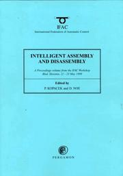 Cover of: Intelligent Assembly and Disassembly (IAD
