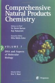 Cover of: Comprehensive Natural Products Chemistry  |