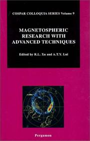 Cover of: Magnetospheric research with advanced techniques | COSPAR Colloquium (9th 1996 Beijing, China)