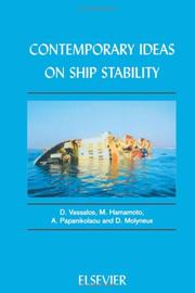 Cover of: Contemporary Ideas on Ship Stability | D. Vassalos