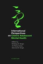 Cover of: International Perspectives on Child & Adolescent Mental Health (International Perspectives on Child and Adolescent Mental Health) |