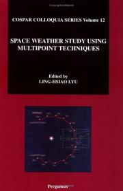 Cover of: Space Weather Study Using Multipoint Techniques (Cospar) | L.-H. Lyu