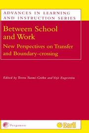 Cover of: Between School and Work |