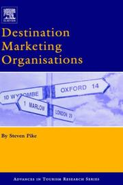 Cover of: Destination Marketing Organisations | Steven Pike