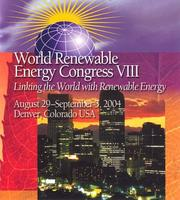 Cover of: Proceedings of the 8th World Renewable Energy Congress (WREC VIII) by A.A.M. Sayigh