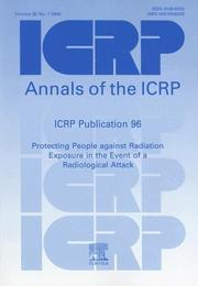 Cover of: ICRP Publication 96 | ICRP