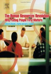Cover of: The human resources revolution by