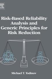 Risk-Based Reliability Analysis and Generic Principles for Risk Reduction by Michael T. Todinov
