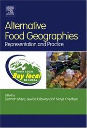Cover of: Alternative Food Geographies |