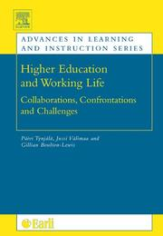 Cover of: Higher education and working life |