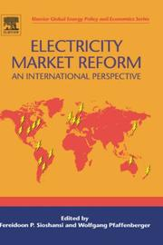 Cover of: Electricity Market Reform |