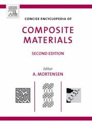 Cover of: Concise Encyclopedia of Composite Materials, Second Edition | Andreas Mortensen