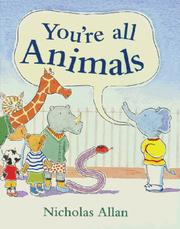 Cover of: You're All Animals