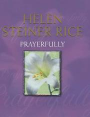 Cover of: Prayerfully: poems of devotion