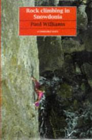 Cover of: Rock Climbing in Snowdonia (Guides)