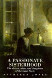 Cover of: A passionate sisterhood