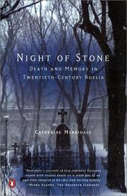 Cover of: Night of Stone | Catherine Merridale