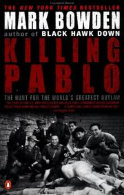 Cover of: Killing Pablo | Mark Bowden