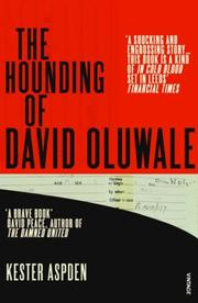 Cover of: The Hounding of David Oluwale