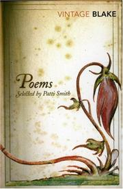 Cover of: The Poems: With Specimens Of The Prose Writings Of William Blake
