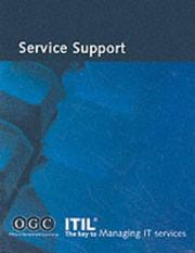 Cover of: Itil Service Support (It Infrastructure Library) | Office of Government Commerce