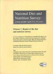 Cover of: National Diet and Nutrition Survey: Young People Aged 4-18 Years | Jan Gregory