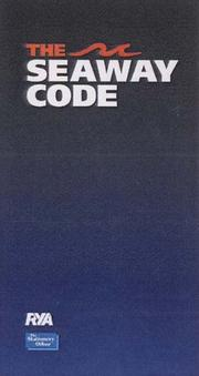 Cover of: The Seaway Code (Seamanship)