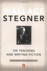Cover of: On Teaching and Writing Fiction